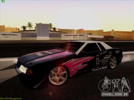 Vinis para Elegia para GTA San Andreas vista traseira