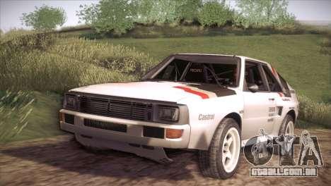 Audi Sport Quattro 1984 para GTA San Andreas
