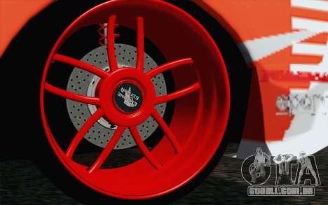 Nissan Skyline GT-R32 para GTA San Andreas traseira esquerda vista