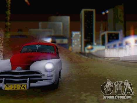 O GÁS M-20 Pobeda para GTA San Andreas vista interior