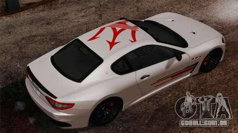 Maserati GranTurismo MC Stradale para GTA San Andreas esquerda vista