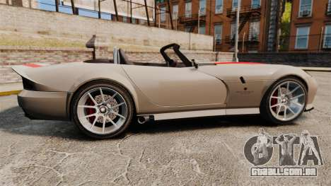 Bravado Banshee new wheels para GTA 4 esquerda vista