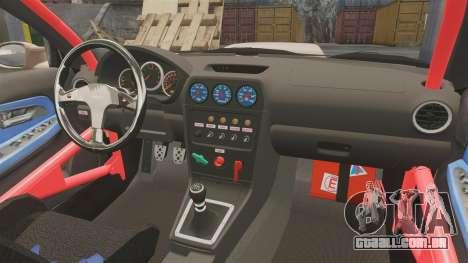 Subaru Impreza WRX STI 2004 para GTA 4 vista interior
