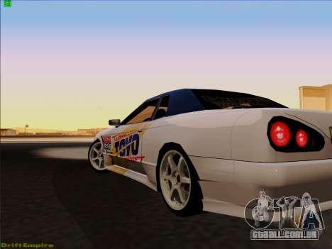 Vinis para Elegia para GTA San Andreas esquerda vista