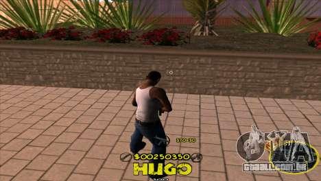 C-HUD Vagos by Hugo para GTA San Andreas segunda tela