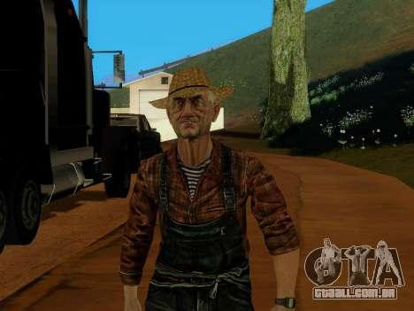 Agricultor ou alterada e completada para GTA San Andreas terceira tela