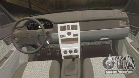 ВАЗ-Lada 2170 Priora v2.0 para GTA 4 vista lateral