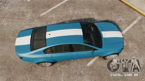 GTA V Cheval Fugitive new wheels para GTA 4 vista direita