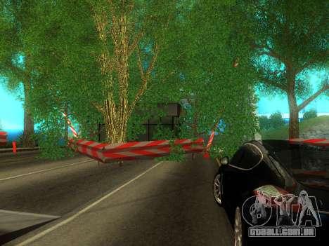 Customs Dos Santos, San Fierro para GTA San Andreas segunda tela