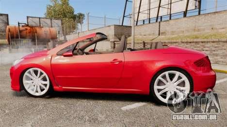Peugeot 308 CC para GTA 4 esquerda vista