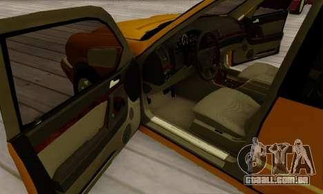Mercedes-Benz E320 Wagon para GTA San Andreas vista superior