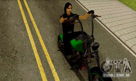 Glenn Danzig Skin para GTA San Andreas terceira tela