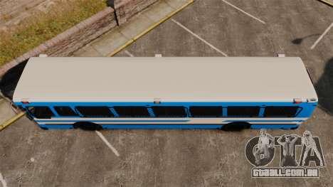 Brute Bus Japanese Police [ELS] para GTA 4 vista direita