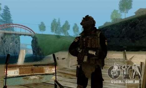 Kopassus Skin 2 para GTA San Andreas sétima tela