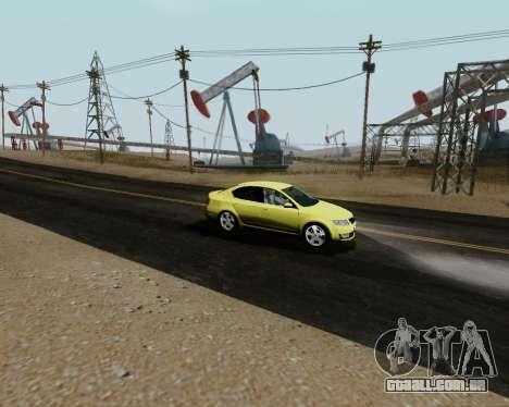 Skoda Octavia A7 para GTA San Andreas vista direita