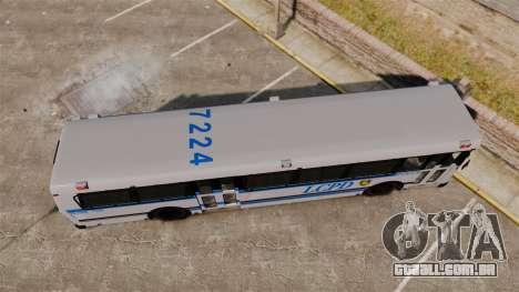 Brute Bus LCPD [ELS] para GTA 4 vista direita
