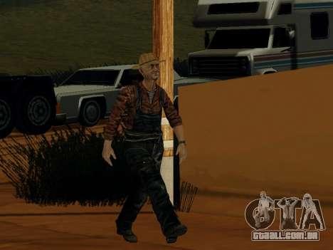 Agricultor ou alterada e completada para GTA San Andreas por diante tela