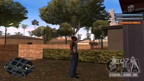 C-HUD Light para GTA San Andreas