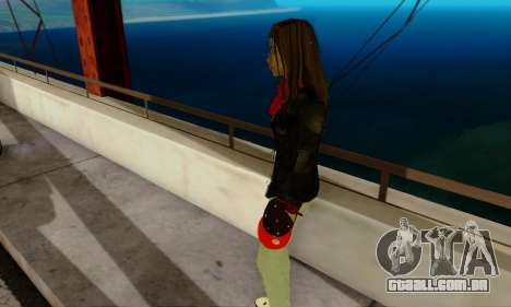 Kim Kameron para GTA San Andreas por diante tela