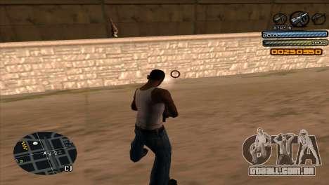 C-HUD Light para GTA San Andreas quinto tela