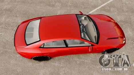 Lamborghini Estoque Concept 2008 para GTA 4 vista direita