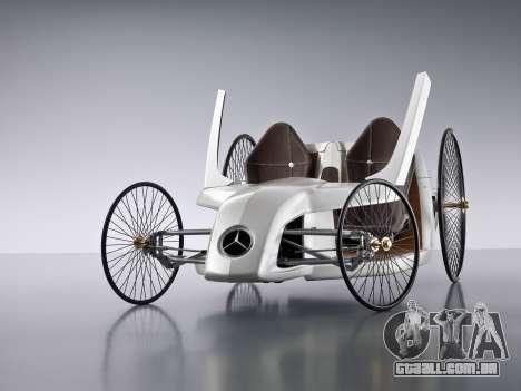 Arranque telas Mercedes-Benz F-CELL Roadster para GTA 4