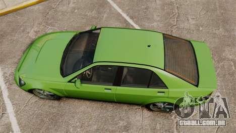 Sultan New Wheel para GTA 4 vista direita