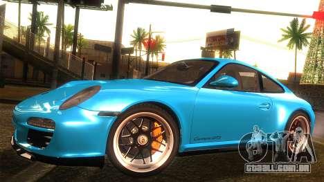 Porsche 911 Carrera GTS 2011 para GTA San Andreas vista traseira
