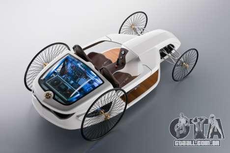 Arranque telas Mercedes-Benz F-CELL Roadster para GTA 4 sexto tela