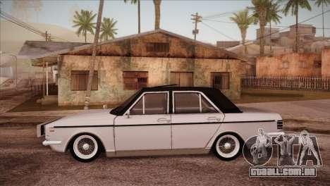 Peykan 48 Blackroof para GTA San Andreas esquerda vista