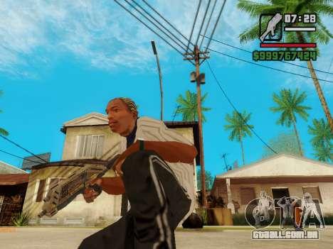 Defender v.2 para GTA San Andreas por diante tela