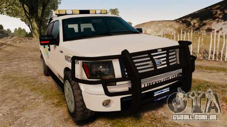 Ford F-150 2010 Liberty City Service Truck [ELS] para GTA 4