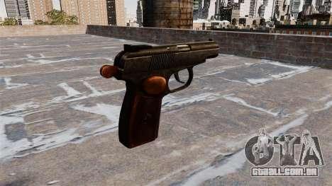 A Pistola Makarov para GTA 4 segundo screenshot