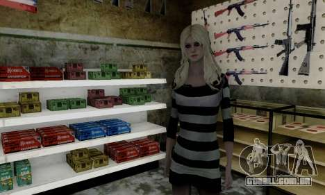 Young Blonde para GTA San Andreas segunda tela