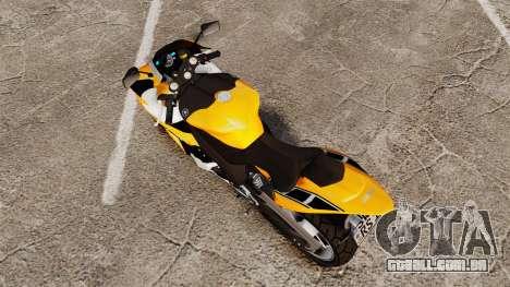 Yamaha R1 RN12 v.0.95 para GTA 4 traseira esquerda vista