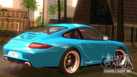 Porsche 911 Carrera GTS 2011 para GTA San Andreas esquerda vista
