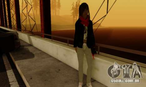 Kim Kameron para GTA San Andreas sexta tela