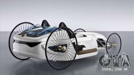 Arranque telas Mercedes-Benz F-CELL Roadster para GTA 4 terceira tela