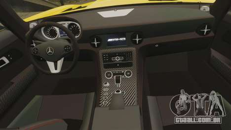 Mercedes-Benz SLS 2014 AMG Performance Studio para GTA 4 vista lateral