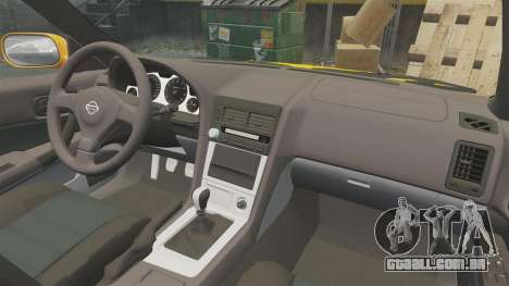 Nissan Skyline ER34 GT-R para GTA 4 vista lateral