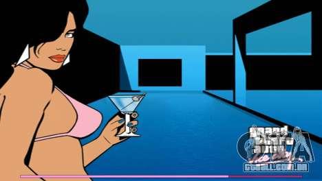 Arranque telas com a versão para PS2 para GTA Vice City quinto tela