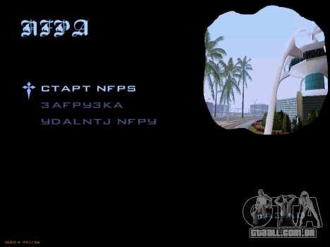 Menu San Andreas 2014 para GTA San Andreas segunda tela