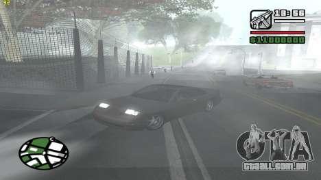 Weather Menu para GTA San Andreas quinto tela