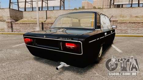 VAZ-2106 Instalado [Fim] para GTA 4 traseira esquerda vista