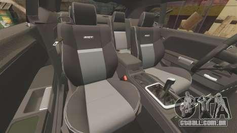 Dodge Challenger SRT8 2009 [EPM] APB Reloaded para GTA 4 vista superior