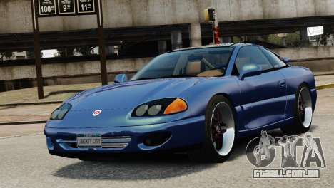 Dodge Stealth Turbo RT 1996 para GTA 4 vista interior