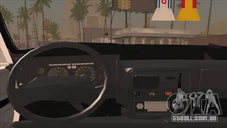 Peykan 48 Blackroof para GTA San Andreas vista traseira