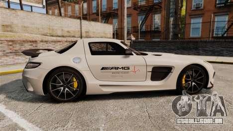 Mercedes-Benz SLS 2014 AMG Driving Academy v1.0 para GTA 4 esquerda vista