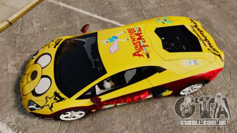 Lamborghini Aventador LP700-4 2012 [EPM] Jake para GTA 4 vista direita