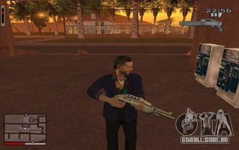 C-HUD GTA 5 para GTA San Andreas segunda tela